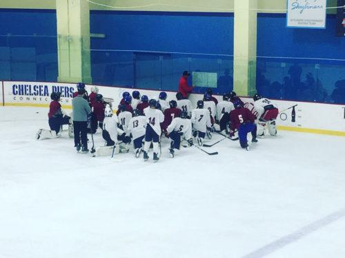 Combine Maroon Hockey
